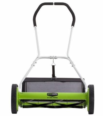 Greenworks 25062 5-Blade Push Reel Lawn Mower - Best Buy